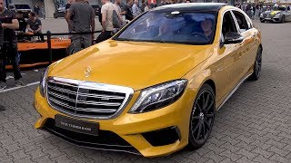 $450.000 Mercedes-Benz S65 AMG (V12 Biturbo) in Solarbeam Yellow!