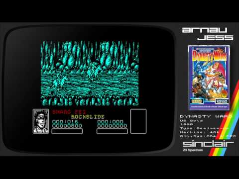 DYNASTY WARS Zx Spectrum by US Gold