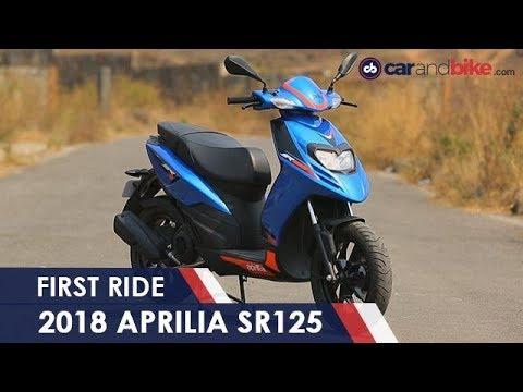 connectYoutube - 2018 Aprilia SR125 First Ride Review | NDTV carandbike