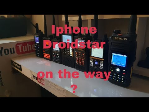 Iphone ver on way, Dudestar and Droidstar DSTAR TX