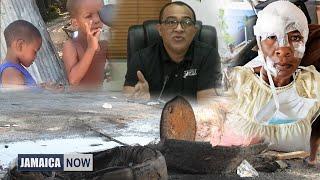 JAMAICA NOW: Weed-smoking boys | Vaccine delay | Fiery protest | Gunman chopped | Highway heartbreak