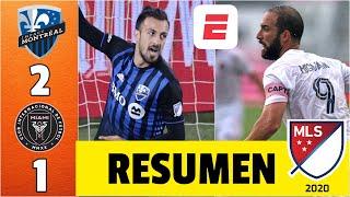 Montreal Impact 2-1 Inter Miami. Gonzalo Higuaín brilla, pero no evita la derrota de su equipo   MLS