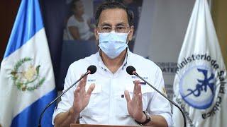 Ministro de Salud informa que hay 120 nuevos casos positivos de coronavirus