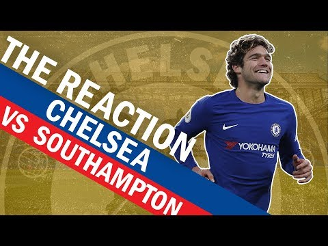Marcos Alonso's Worldie Free-Kick Gives Chelsea The Win Over Southampton | The Reaction