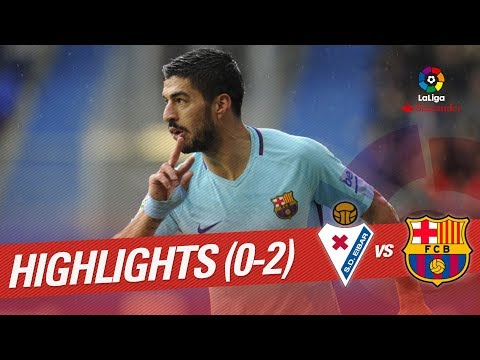 Resumen de SD Eibar vs FC Barcelona (0-2)
