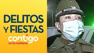 PATRULLAJE PANDEMIA Infractores, delitos y fiestas en toque de queda - Contigo en La Mañana