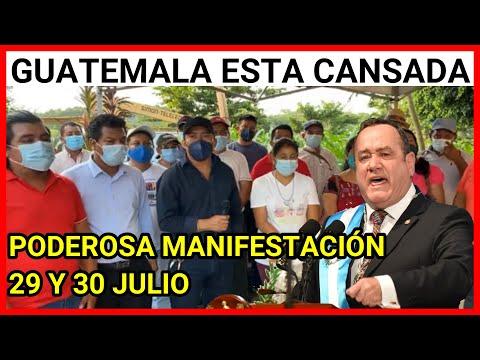 URGENTE GUATEMALA CON EL ESPIRITU JUAN MATALB'ATZ Y ATANACIO TZUL EXIGEN LA RENUNCIA DE GIAMMATTEI