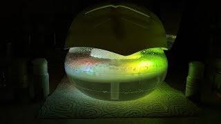 Water sphere air cleaner.