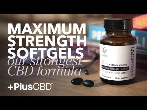 Americas Favorite CBD | Maximum Strength Softgels