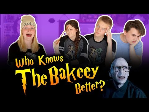 Who Knows TheBakeey Better? - (Ft. Seamus Gorman, Vegard & LaurasAlwaysPottering)