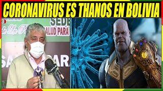 Ministro Boliviano Dice Que El Covid-19 Es Igual a Thanos - Sugiere Prohibir Las Barbas En Bolivia