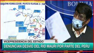 Bolivia Denuncian desvío del Río Mauri por parte de Perú -Daño Ambiental y a Comunidades Originarias