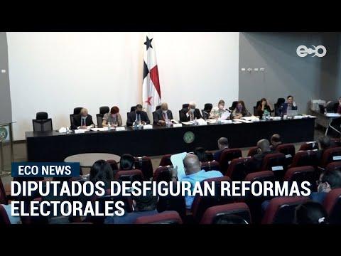 Asamblea panameña busca frenar avances de consensos logrados en reformas electorales   #EcoNews