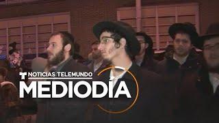Tiroteo de Jersey City: Encienden menorá de Janucá en tributo a víctimas | Noticias Telemundo