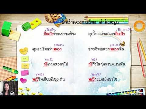ภาษาไทย-ป.3-คำพ้อง