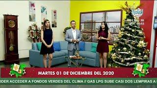 Hola Honduras: Programa del 01 de diciembre 2020