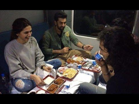 Ranbir And Deepika's 'Tamasha' Train Journey!