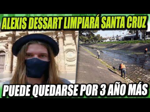 Alexis Dessart ahora limpiará el Canal Isuto de Santa Cruz, puede quedarse por 3 años más en Bolivia