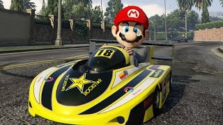 GTA 5 Mod Adds Mario Kart