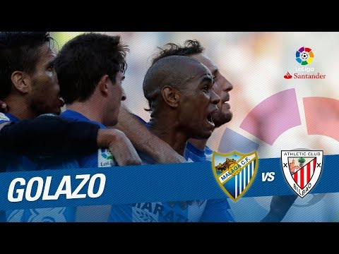 Golazo de Rolán (1-1) Málaga CF vs Athletic Club