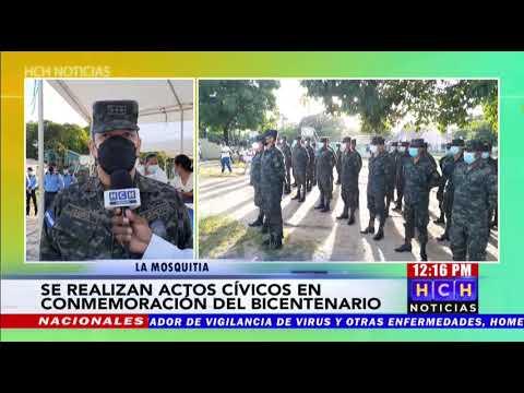 Diversas actividades en Puerto Lempira en el marco del #BicentenarioHonduras