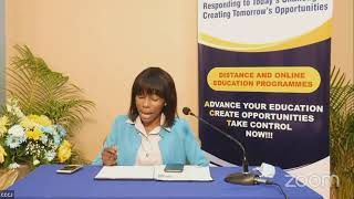 The Launch of  CCJ Distance and Online Education     JISTV |