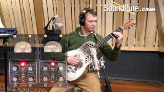 Retro Doublewide Tube Compressor - Part 3: Resonator Guitar