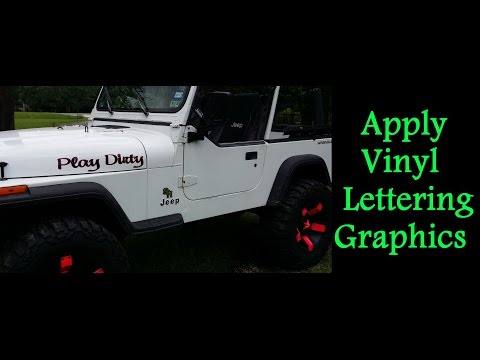 Jpg - Custom vinyl decal application fluid recipe