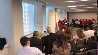 Luis Fernando Camacho es interrumpido mientras participaba de un conversatorio en EEUU. (Opinión)