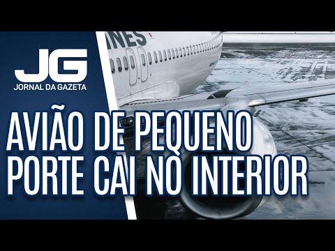 Avião de pequeno porte cai e mata sete pessoas no interior de São Paulo