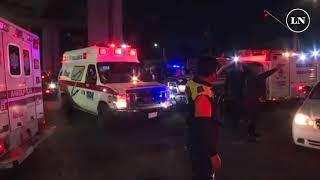 Accidente en metro de Ciudad de México deja muertos y heridos