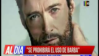 Ministro de Obras Públicas sugiere prohibir el uso de barba