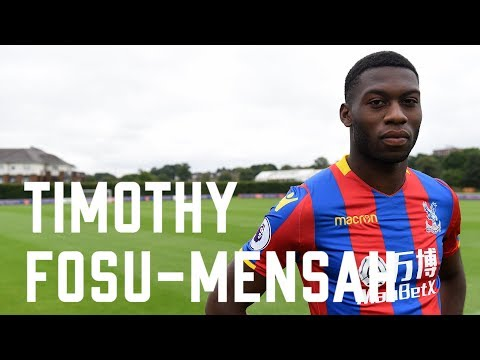 Video: Man United's Timothy Fosu-Mensah talks about the key reasons for joining Crystal Palace on loan