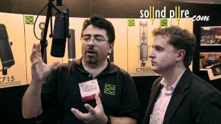 Josephson C716 Dual Diaphragm Cardioid Condenser Microphone Interview at AES 2011