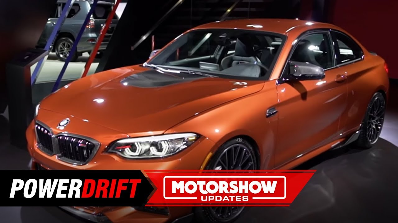 2019 बीएमडब्ल्यू एम2 कम्पटीशन : ए proper m-sport : 2018 la ऑटो show : powerdrift