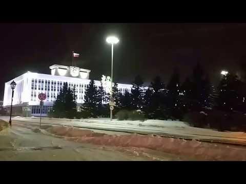 Томск новогодний