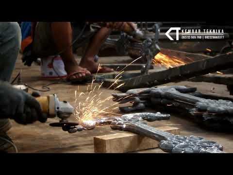Pembuatan Pagar Besi Cor Artistik