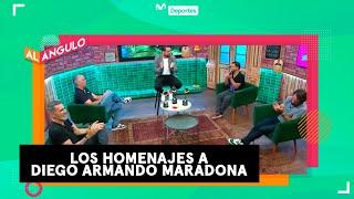 Los mejores homenajes a Diego Armando Maradona   AL ÁNGULO *RITMO AGOGÓ*