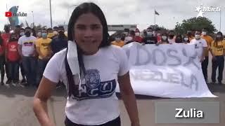 Aumentan las protestan en Venezuela, tras la inoperancia del régimen para llevar vacunas al pueblo