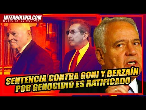 Juez de EEUU ratifica sentencia al ex presidente boliviano SÁNCHEZ de LOZADA GONI por MASACRE