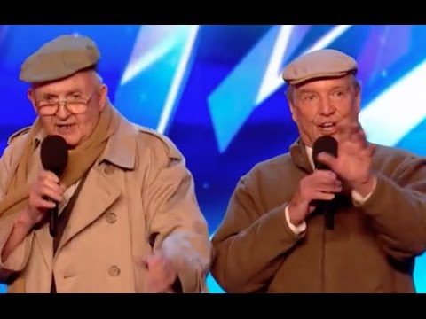 The Pensionaires bringing a touch of nostalgia to BGT | Audition 6 | Britain's Got Talent 2017
