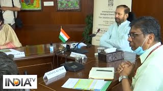 Prakash Javadekar launches India's Biodiversity Samrakshan Internship Programme - INDIATV