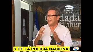 Agentes de la Policía Nacional allanan casa de Arturo Cruz