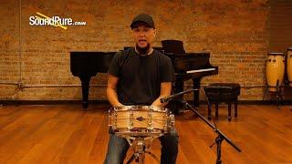 Craviotto 5.5x14 Ash Custom Shop Snare Drum