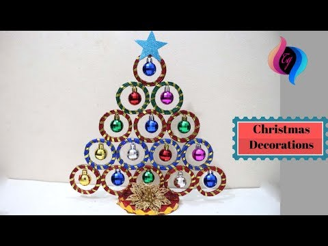 Christmas DIY - How to make christmas decorations - Paper christmas decorations to make at home