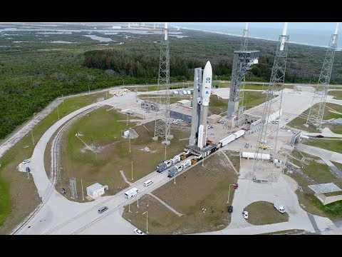 connectYoutube - Atlas V GOES-S: Aerial Views Leading to Launch