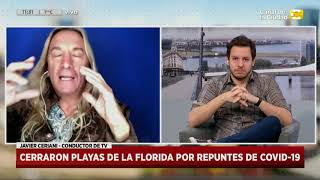 Coronavirus en Miami: nuevo récord de casos en la Florida en Hoy Nos Toca a las Diez