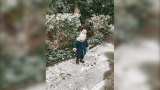 Ana Boyer comparte la primera vez de su hijo Miguel en la nieve