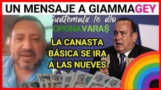 ULTIMA NOTICIA GUATEMALA, RONY MENDOZA EN UN MENSAJE URGENTE AL PRESIDENTE GIAMMAGEY