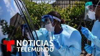 Florida, Texas, California y Arizona suman más de la mitad de contagios de coronavirus | Telemundo